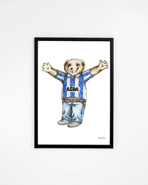 Pickles the Owl - Sheffield Wednesday Print or Canvas
