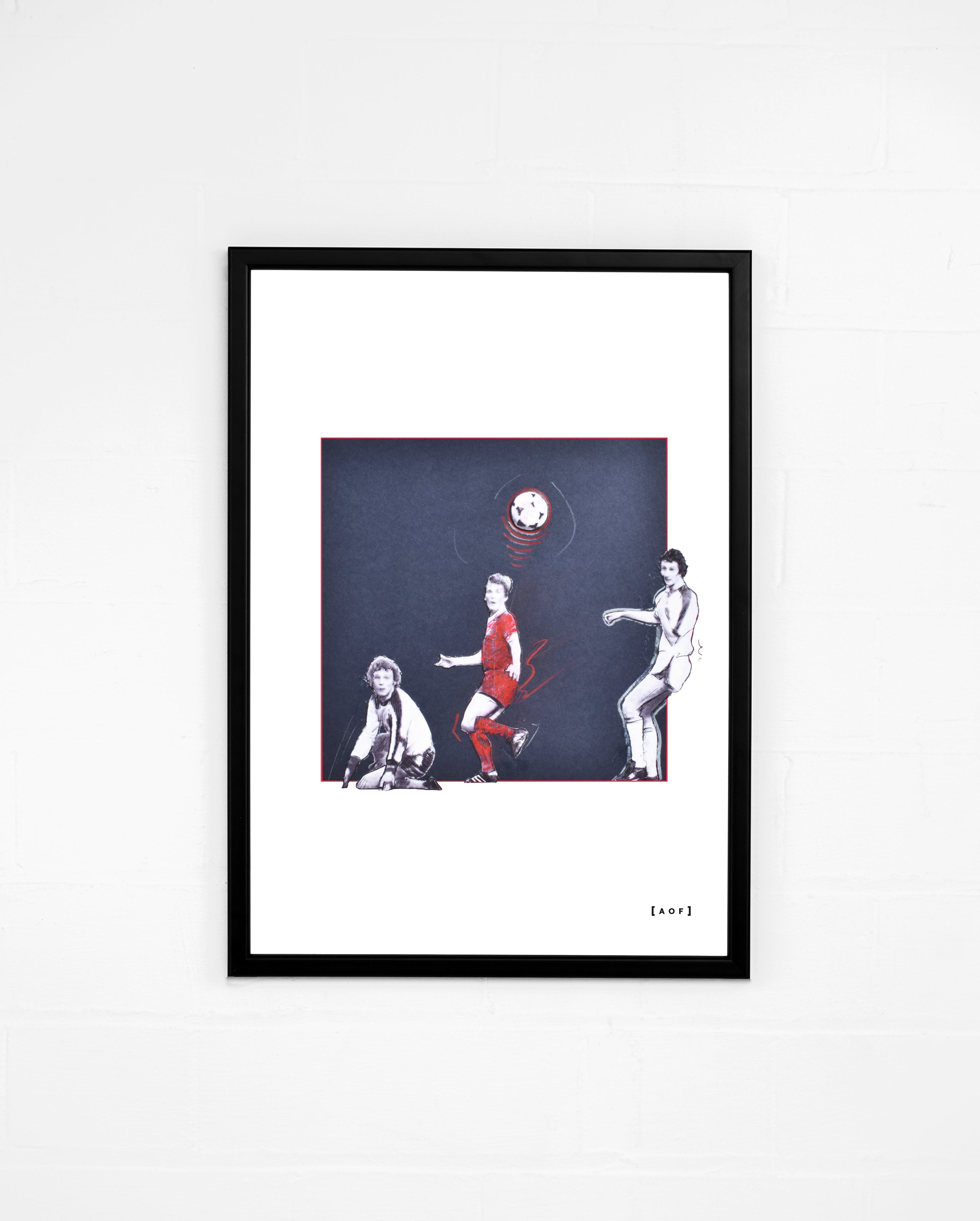 The Dalglish Dink - Print or Canvas