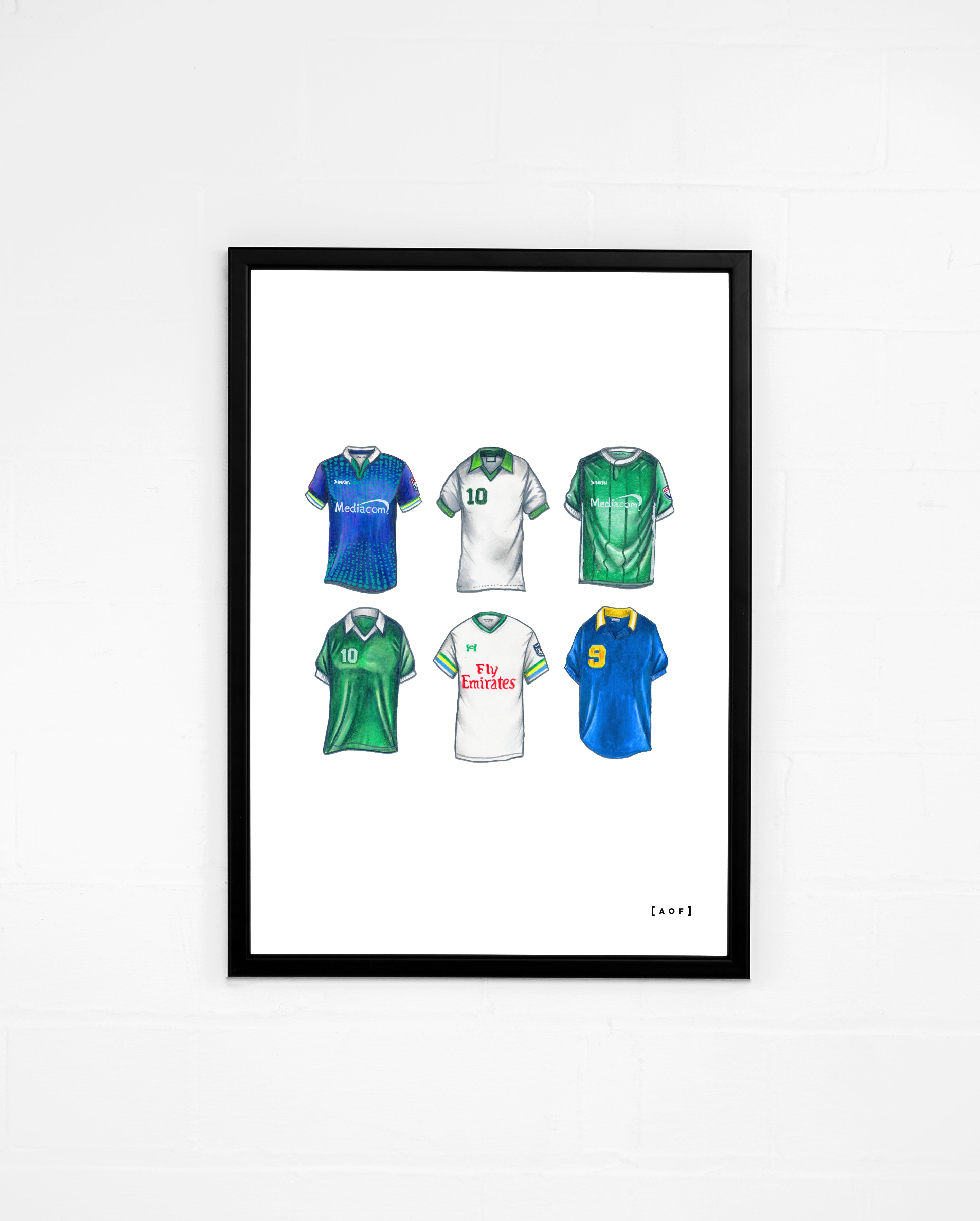 """New York Cosmos Classics"" - Print or Canvas"