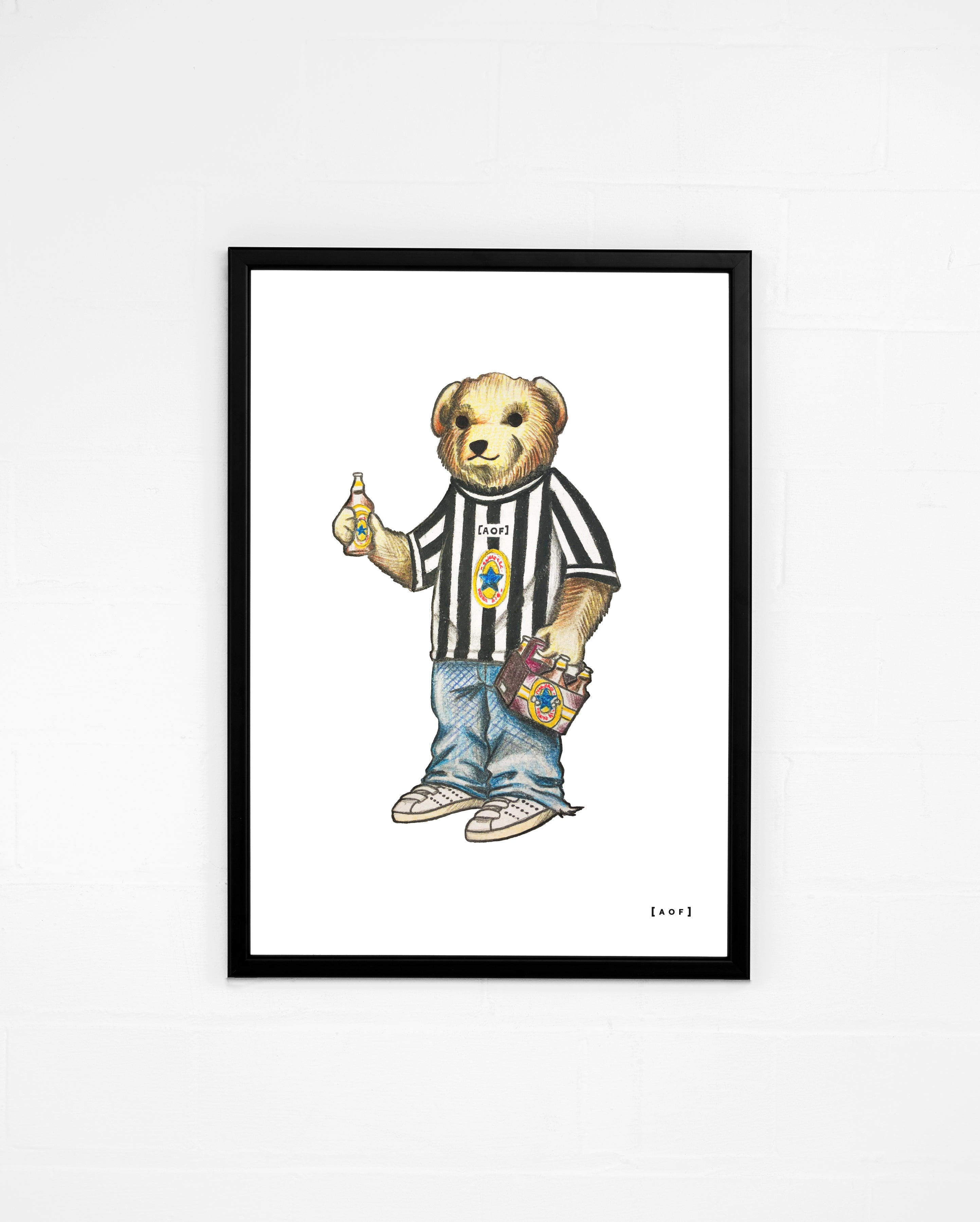 Toon Pickles - Newcastle Utd Print or Canvas