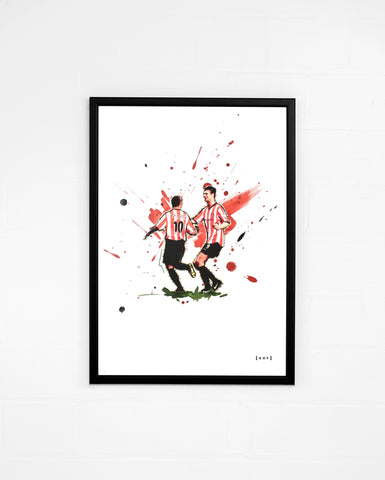 The Mackem Brothers - Print or Canvas