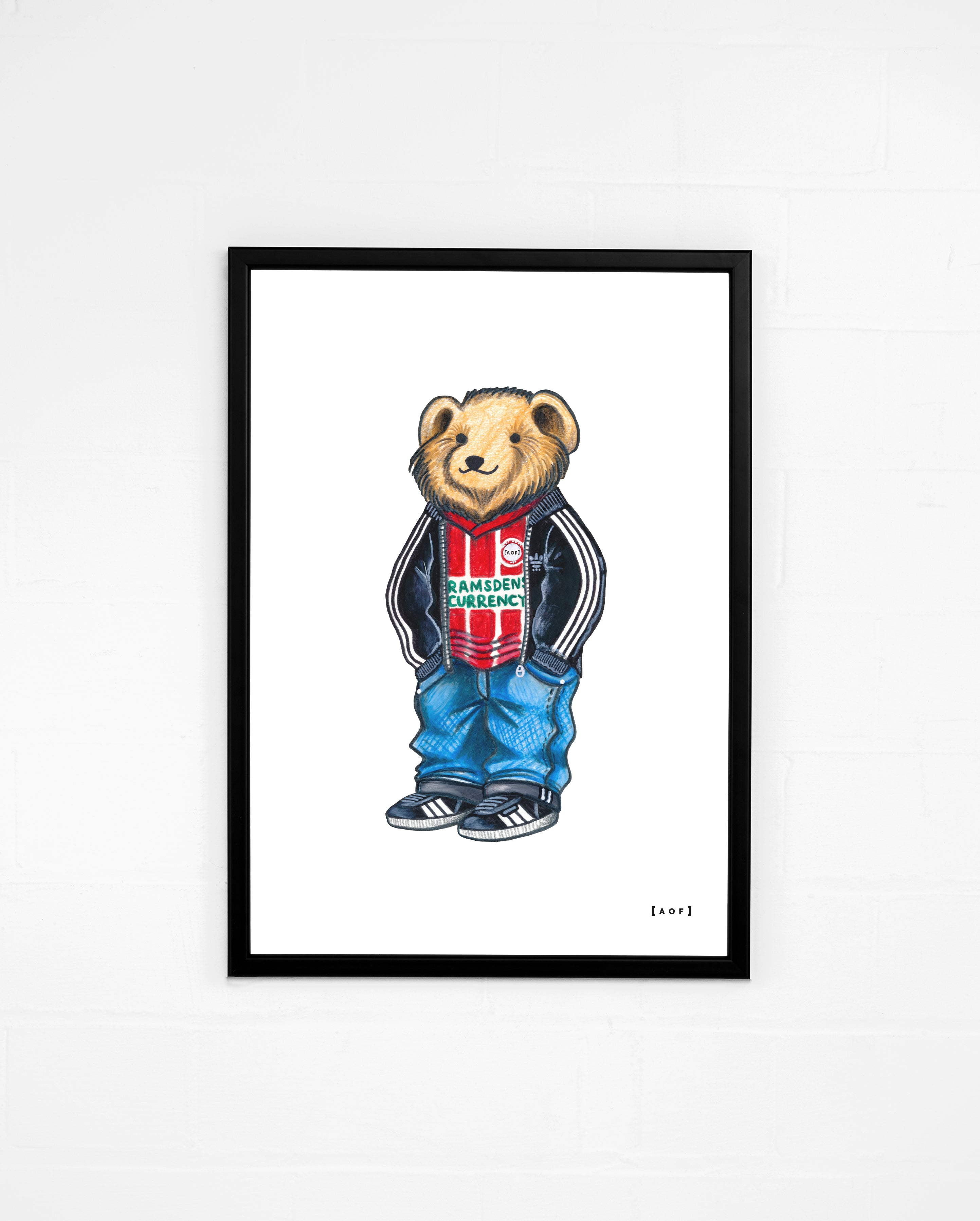Promoted Pickles - Sheff United Print or Canvas