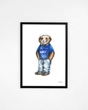 Blue Nose Pickles - Everton Print or Canvas