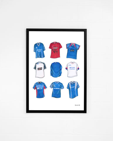 """RFC Classics"" - Print or Canvas"