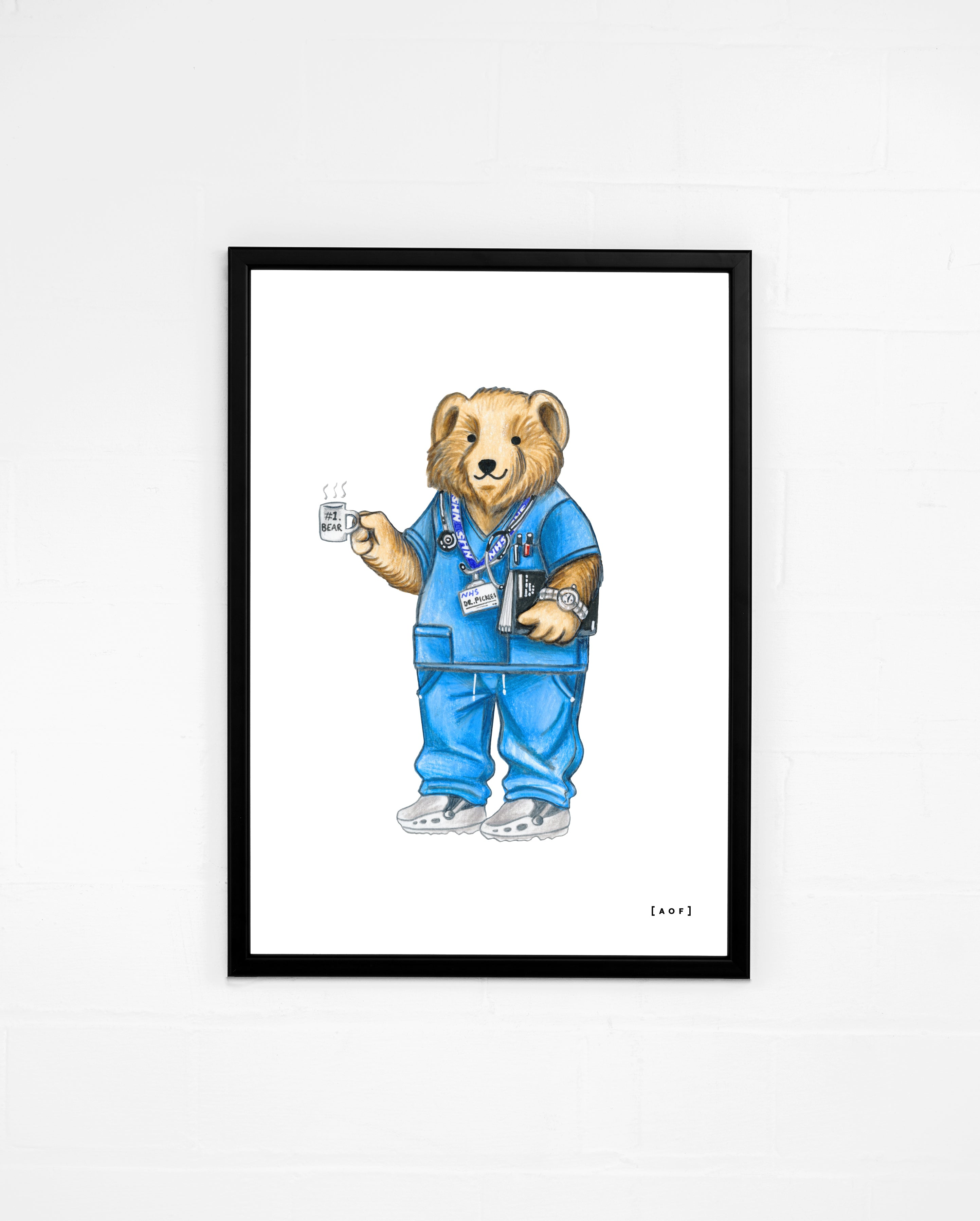 Scrubs Pickles - Print or Canvas
