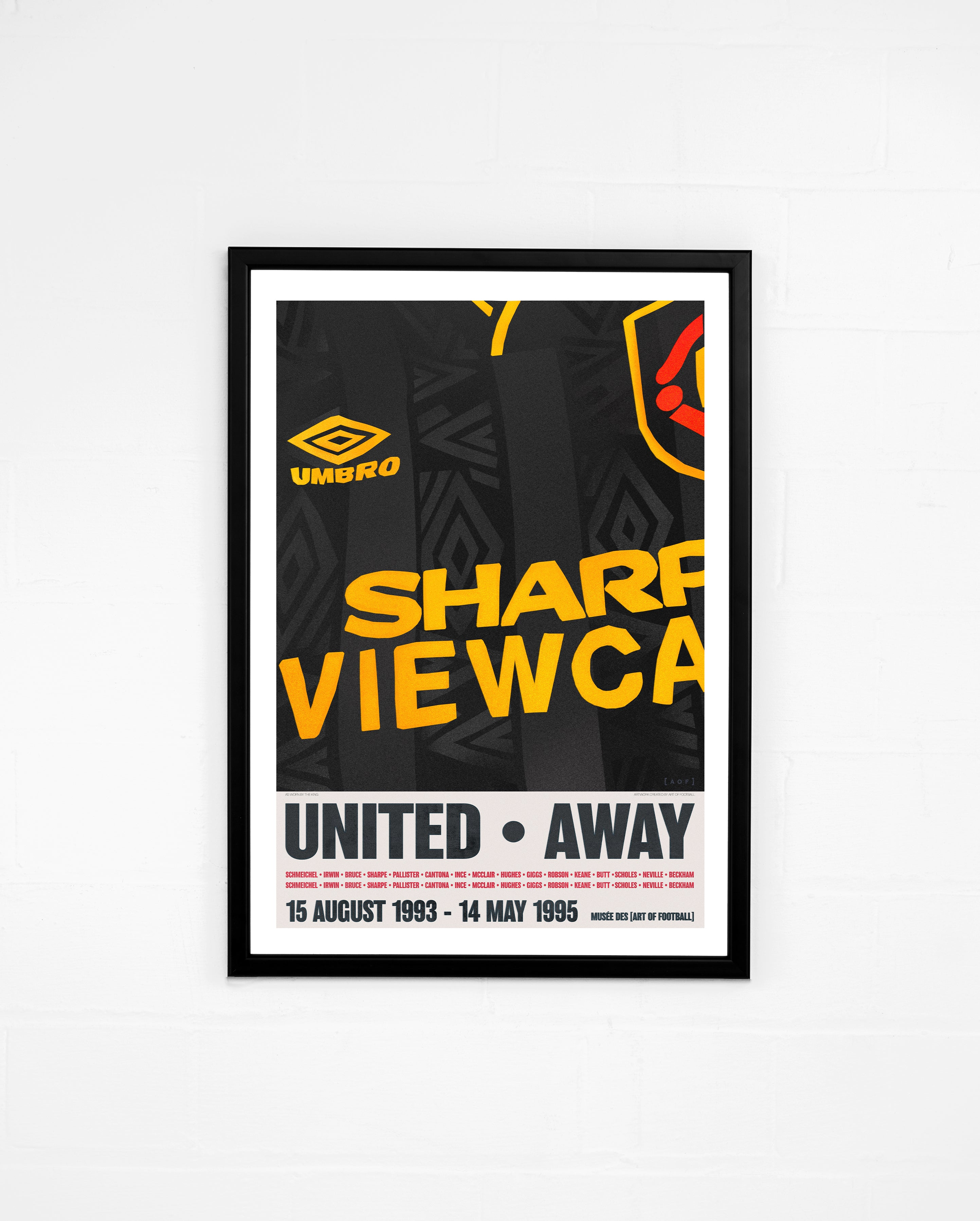 United Away 93/95 - Print or Canvas