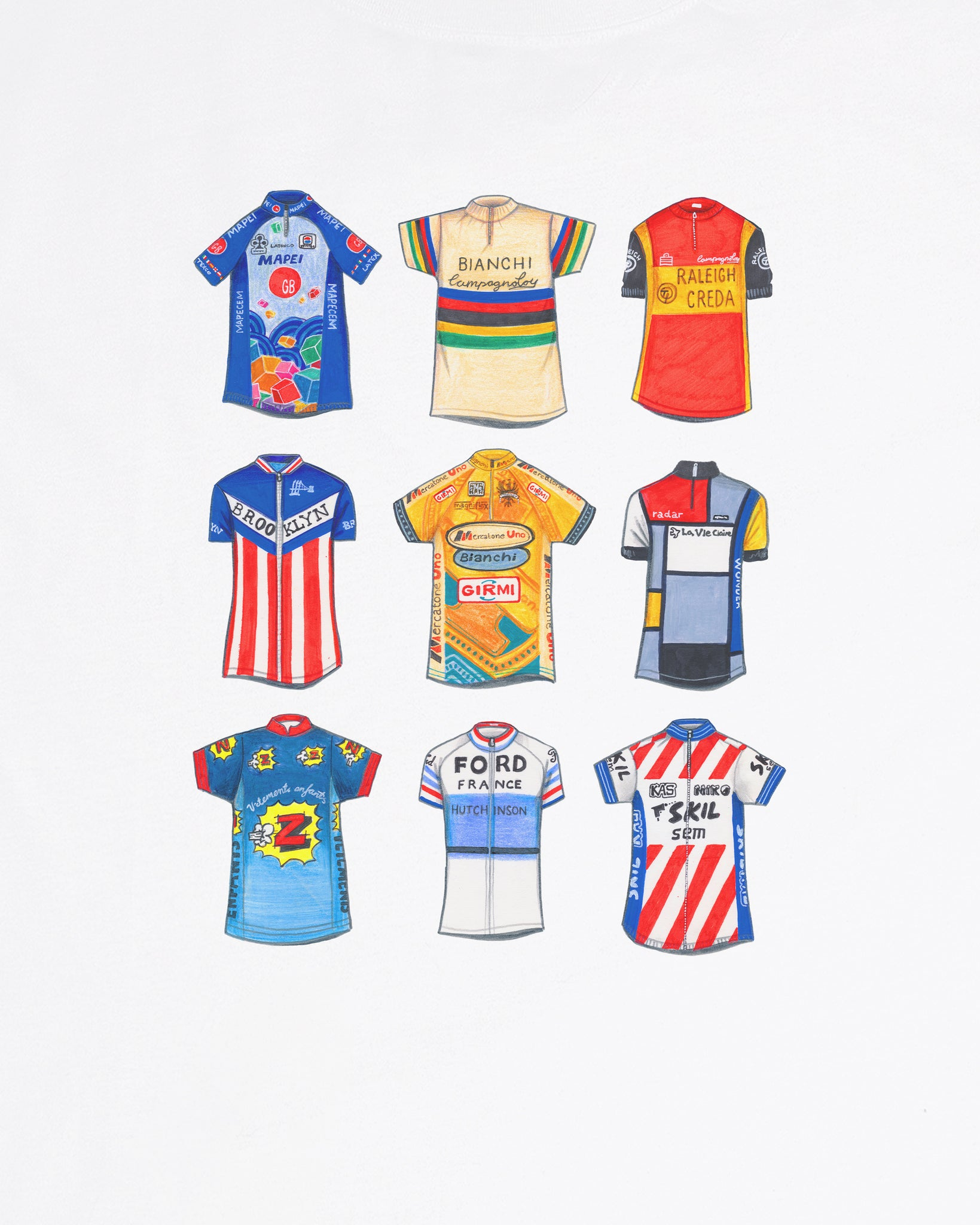 """Cycling Classics"" - Tee or Sweat"