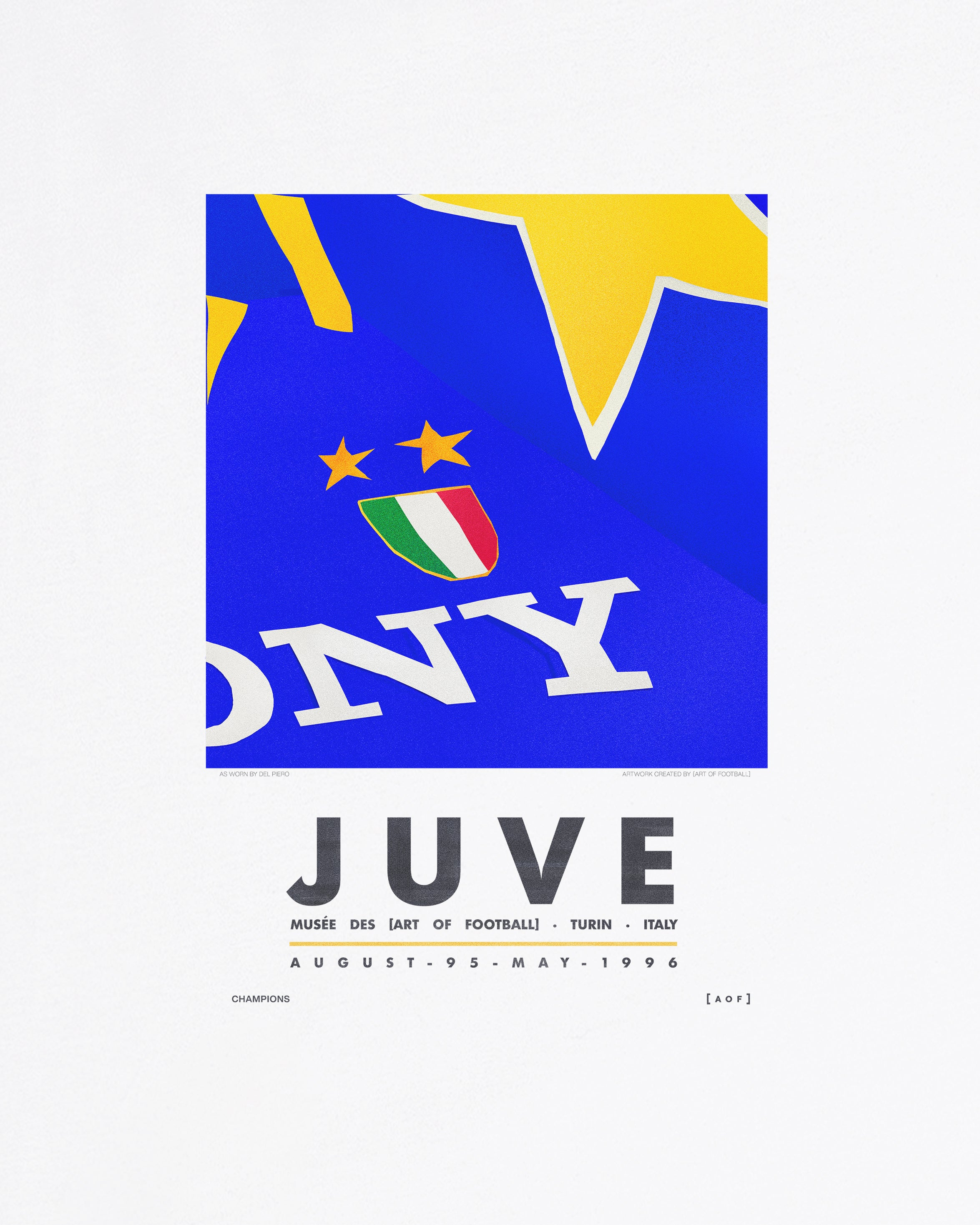 Juve 95/96 - Tee or Sweat