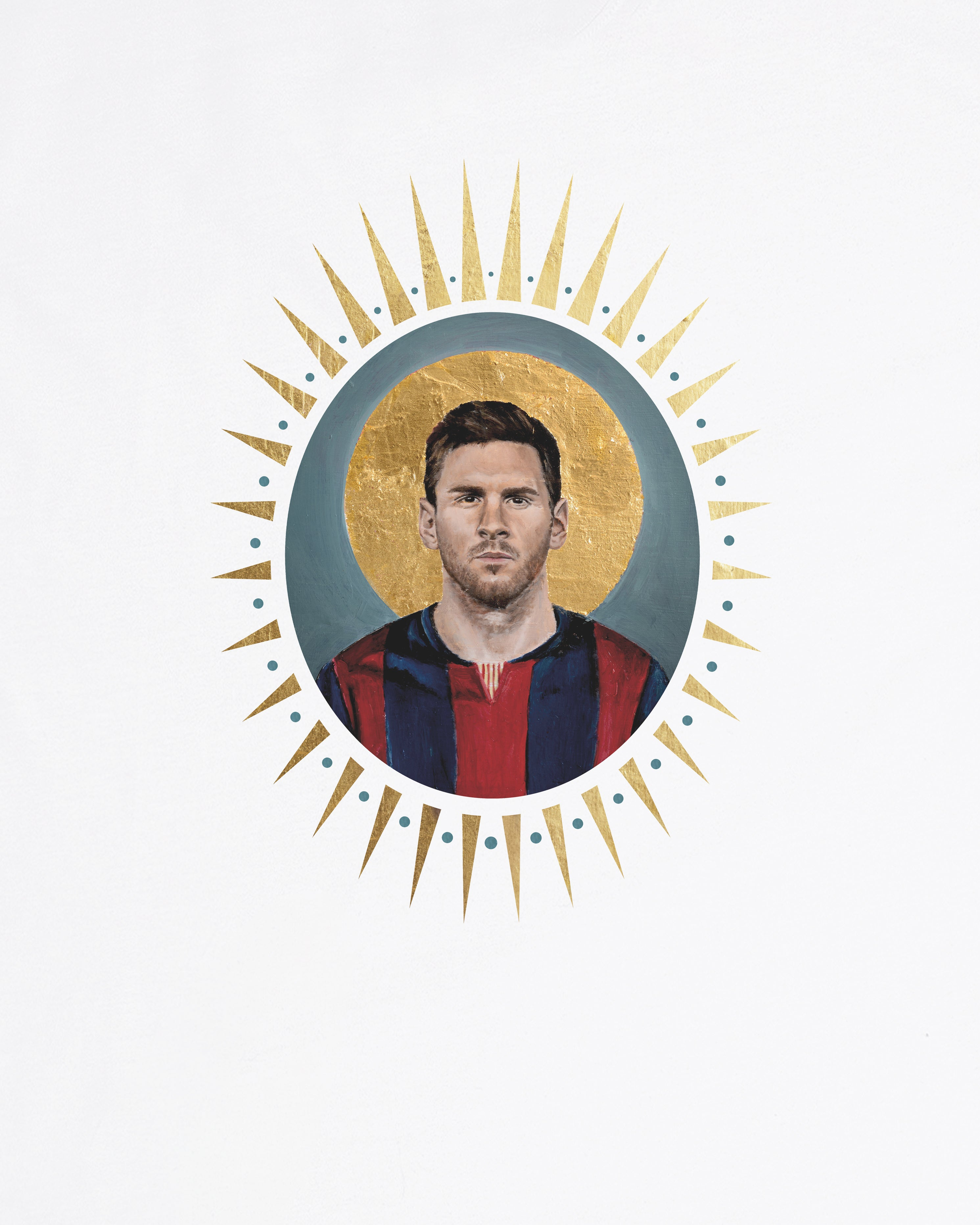 Icons, Messi Tee or Sweat - By David Diehl