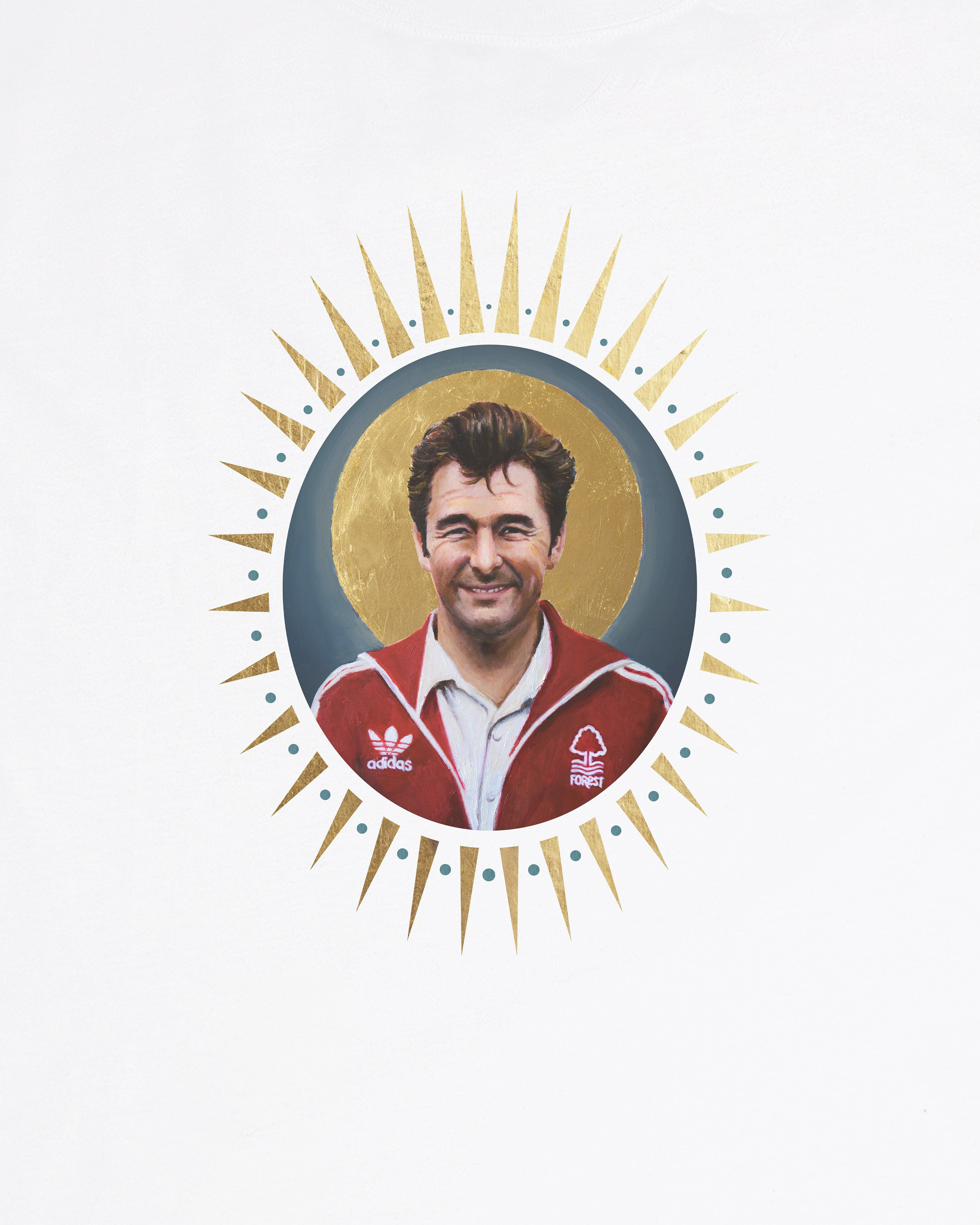Brian Clough Icon - Tee or Sweat