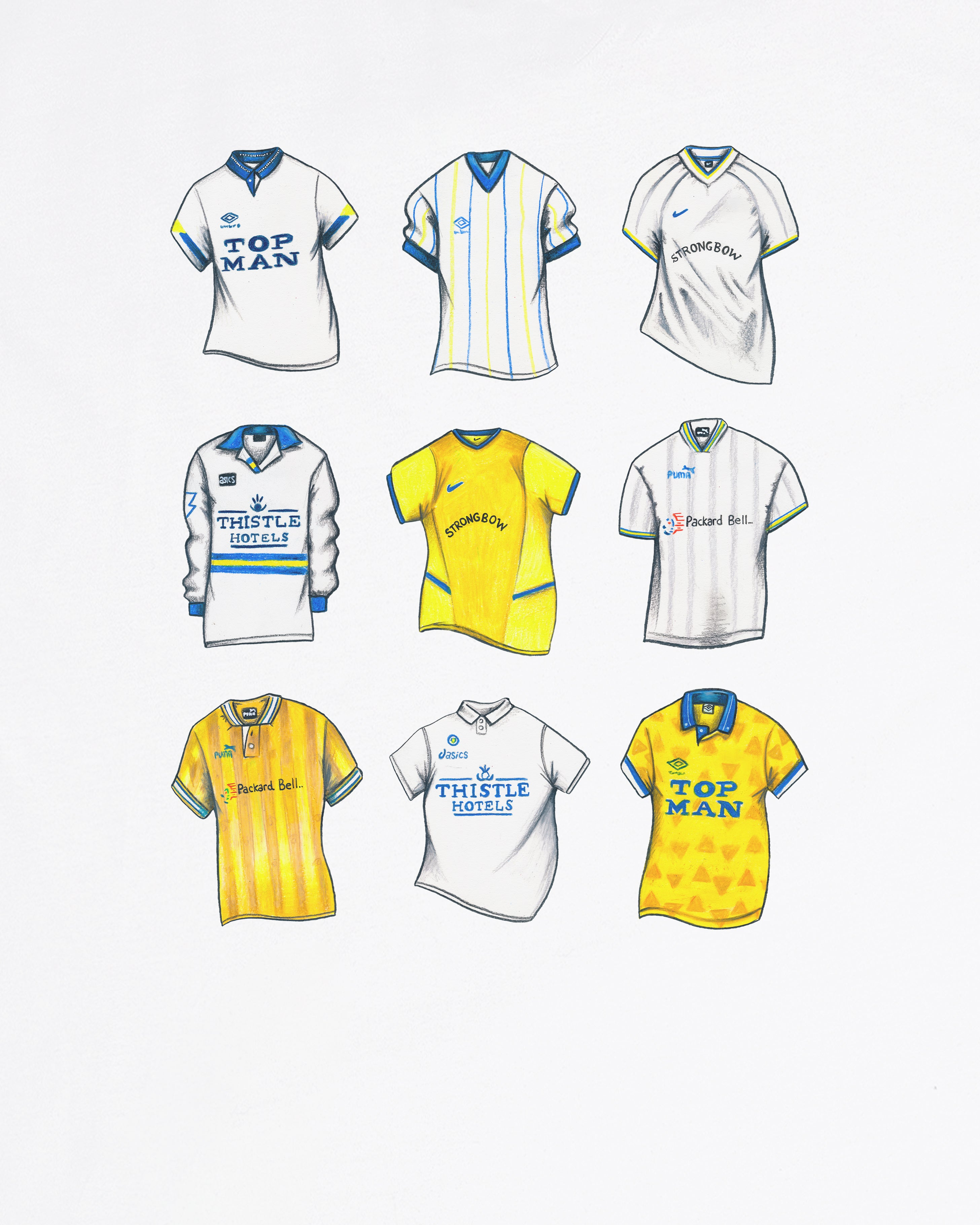 """LUFC Classics"" - Tee or Sweat"