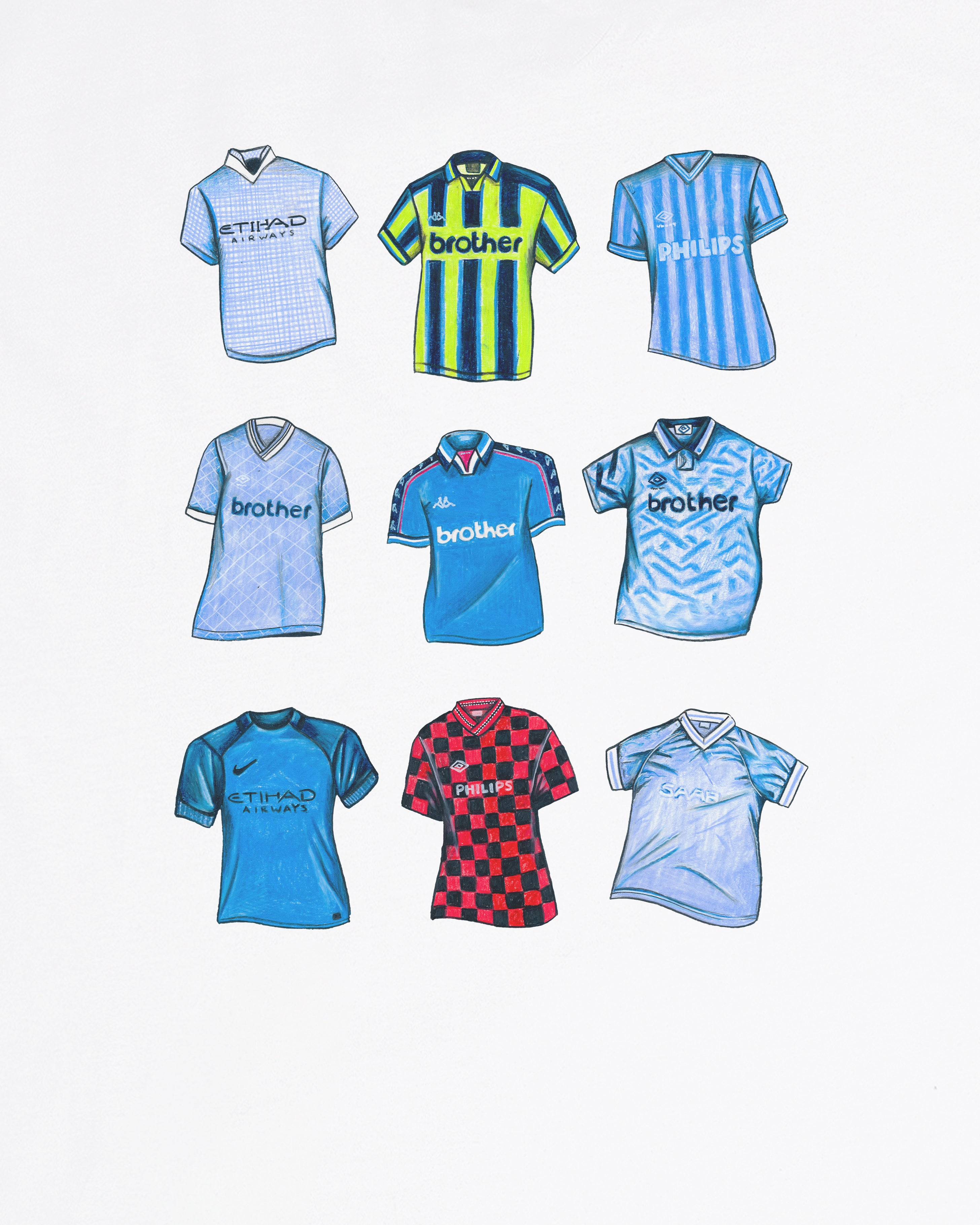 """MCFC Classics"" - Tee or Sweat"