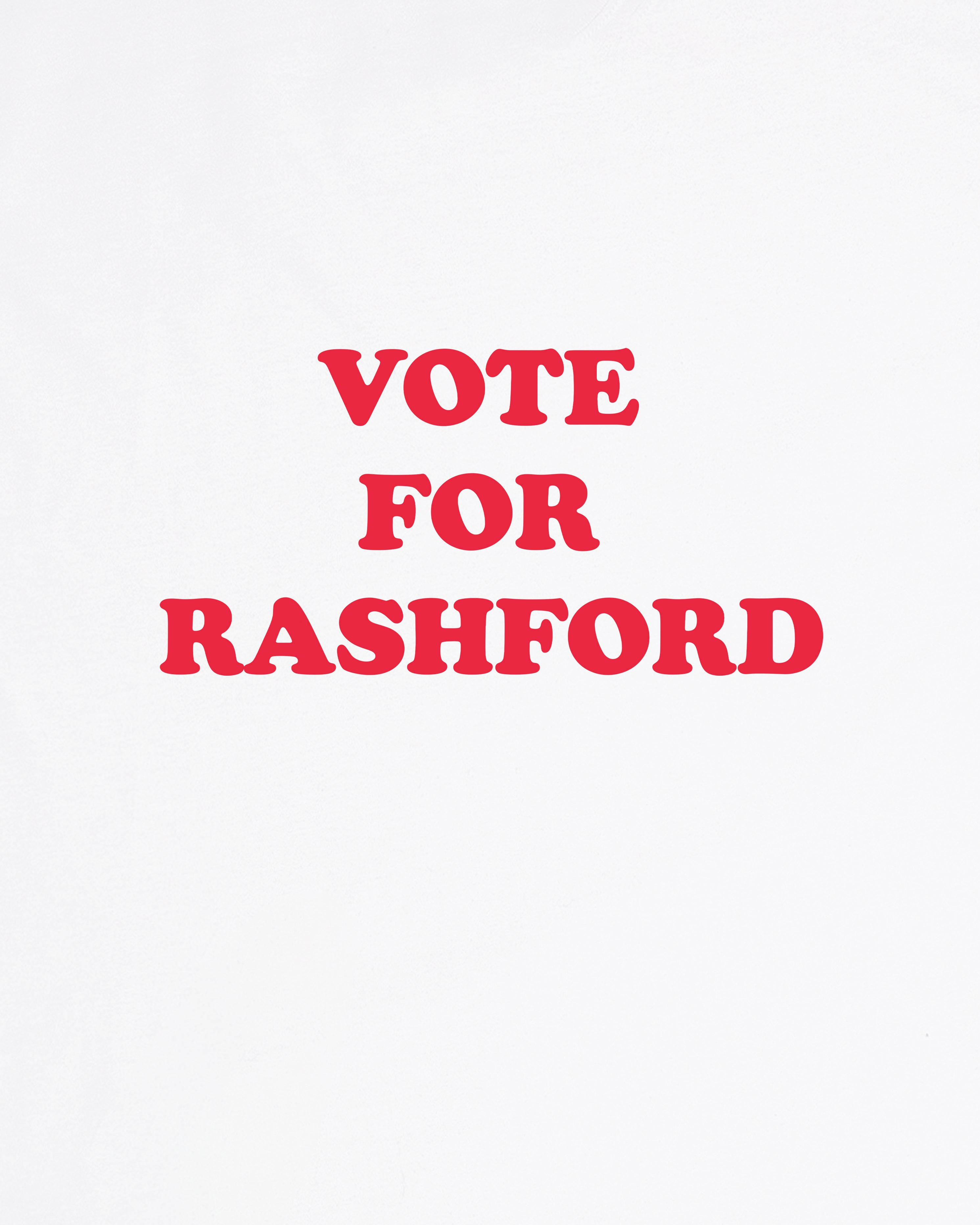 Vote for Rashford - Tee