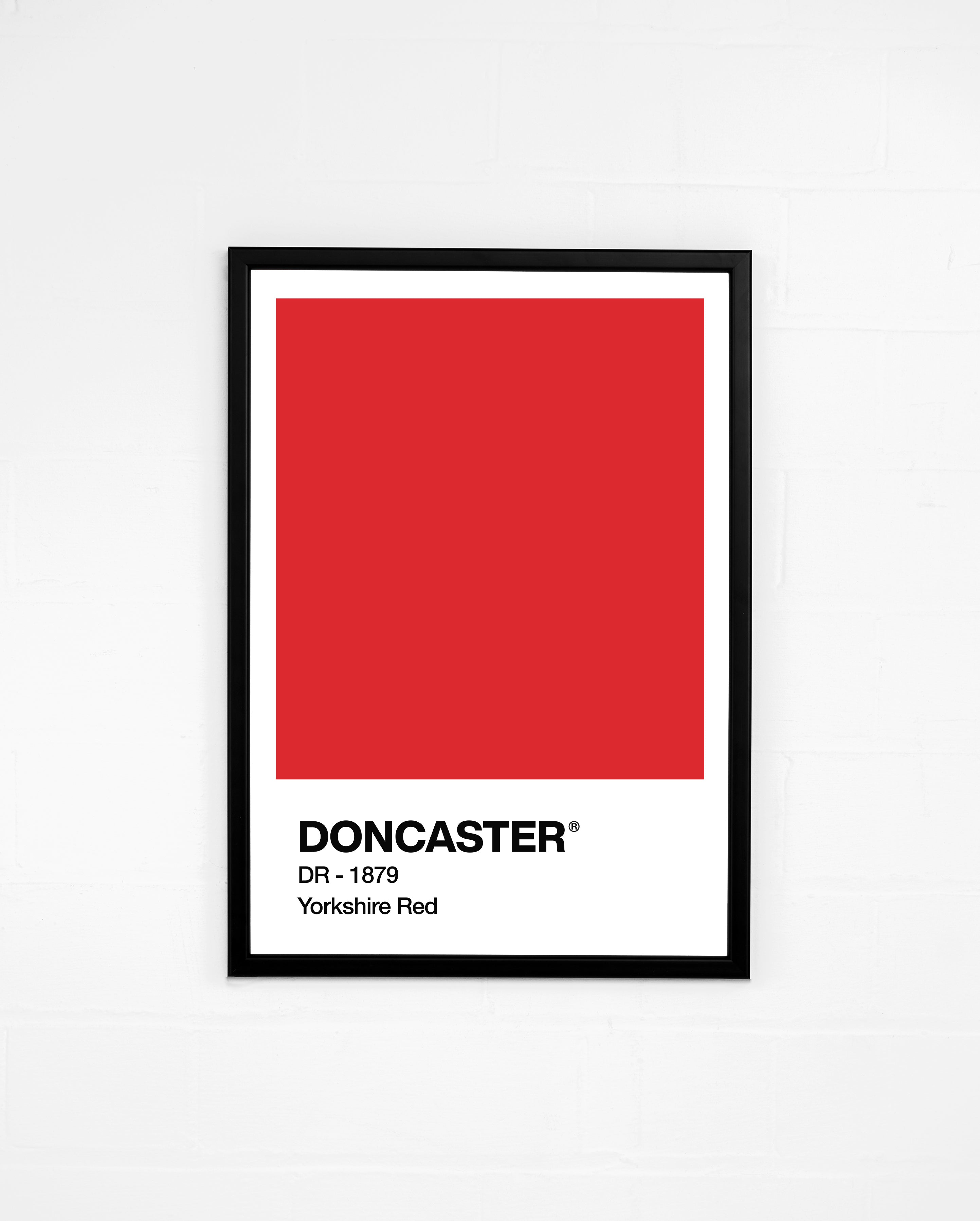 Yorkshire Red and Donny White - Prints