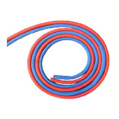 surna reinforced red and blue rubber tubing
