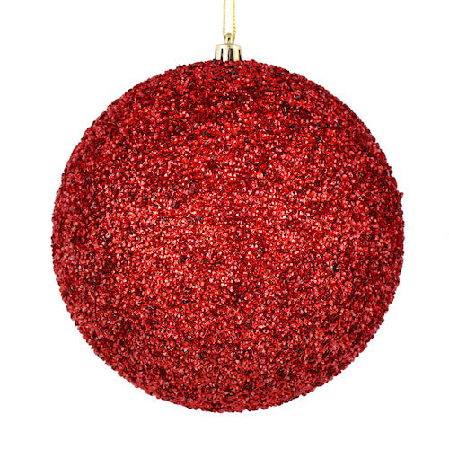 Red Beaded Ornaments