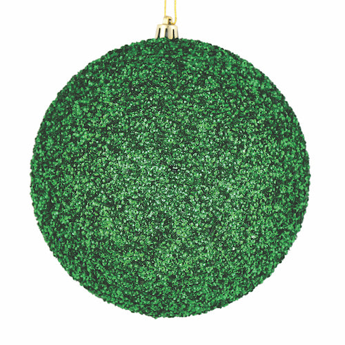 Green Beaded Ornaments