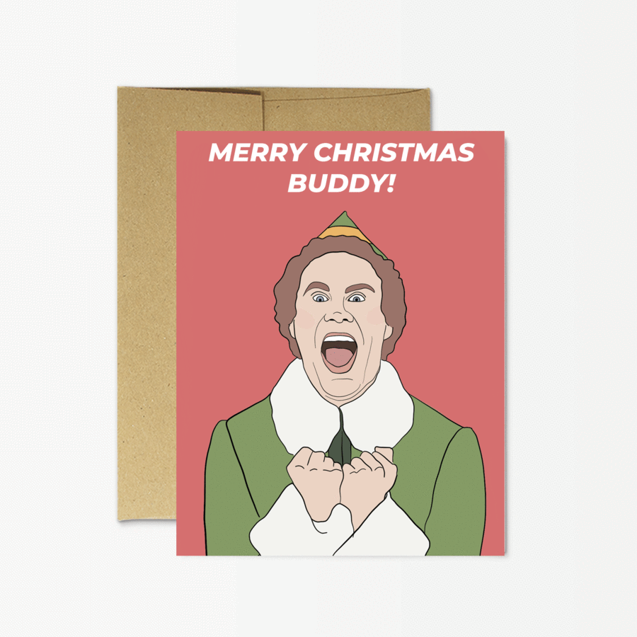 Buddy The Elf - Merry Christmas