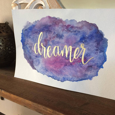 Dreamer Watercolor