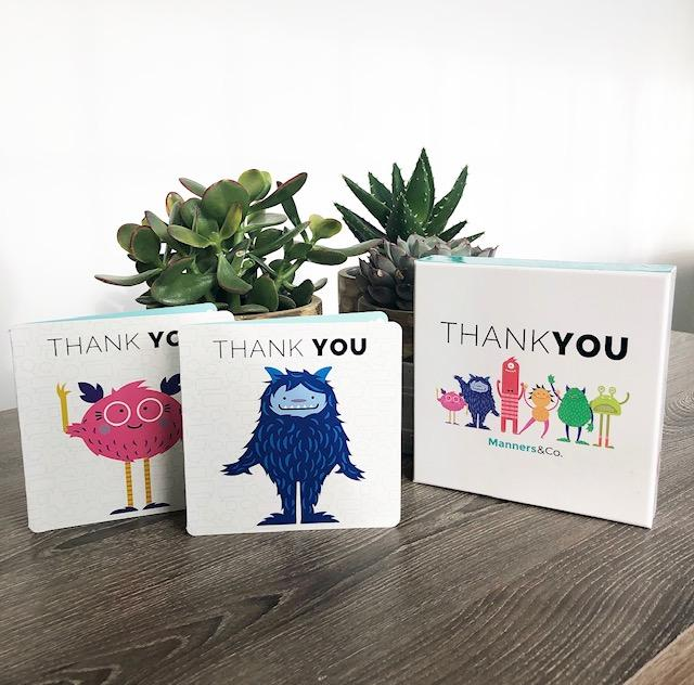 Thank You Cards - Manners & Co.