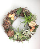 Spring Living Wreath Workshop with Trinity's Florals
