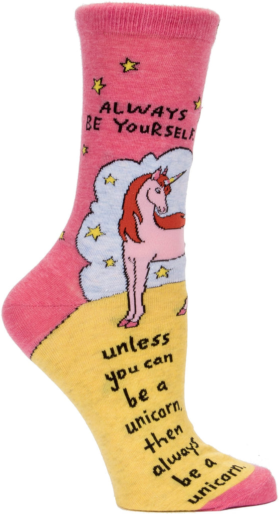 Always Be a Unicorn Socks
