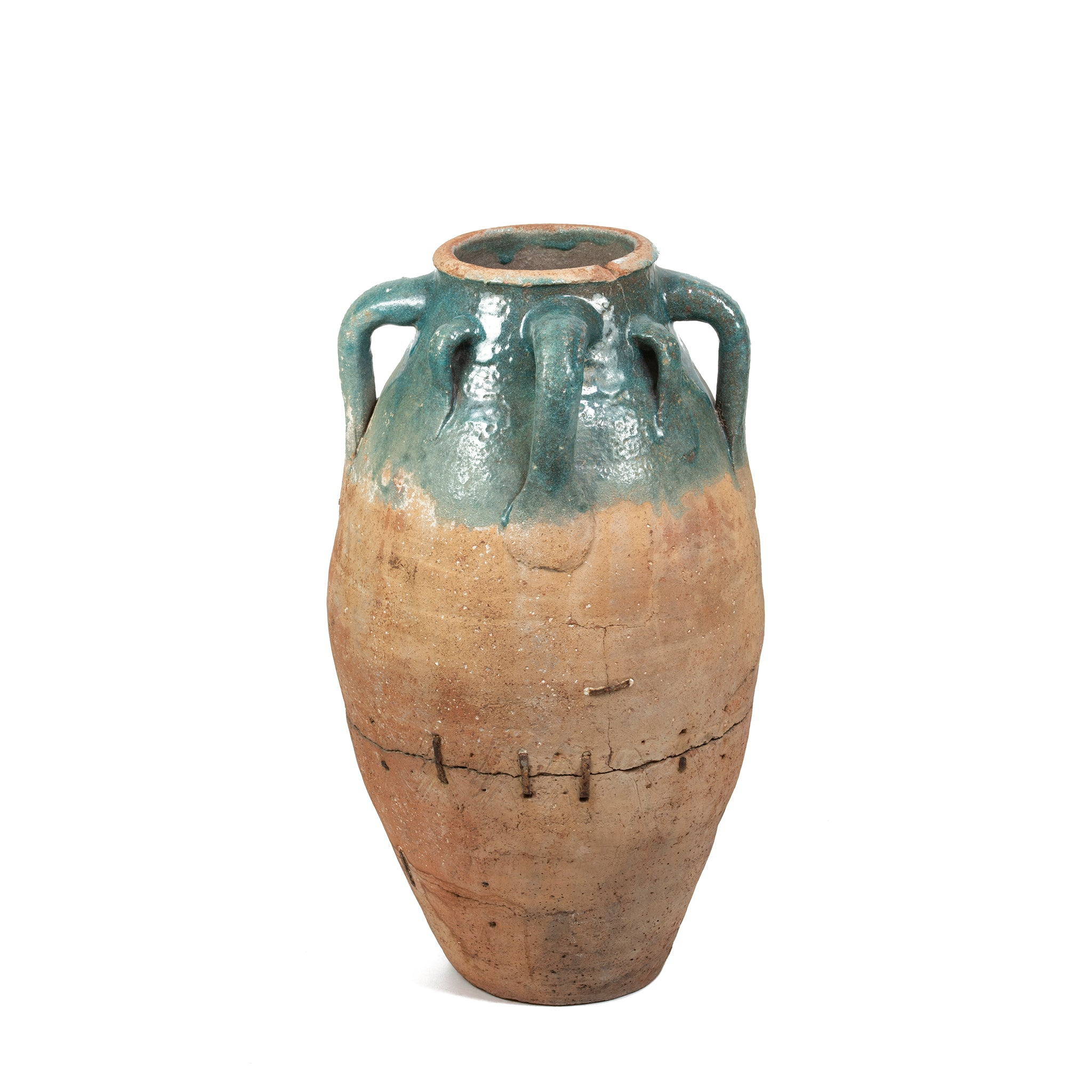 Repaired Ceramic Amphora, Persia | 18th Century