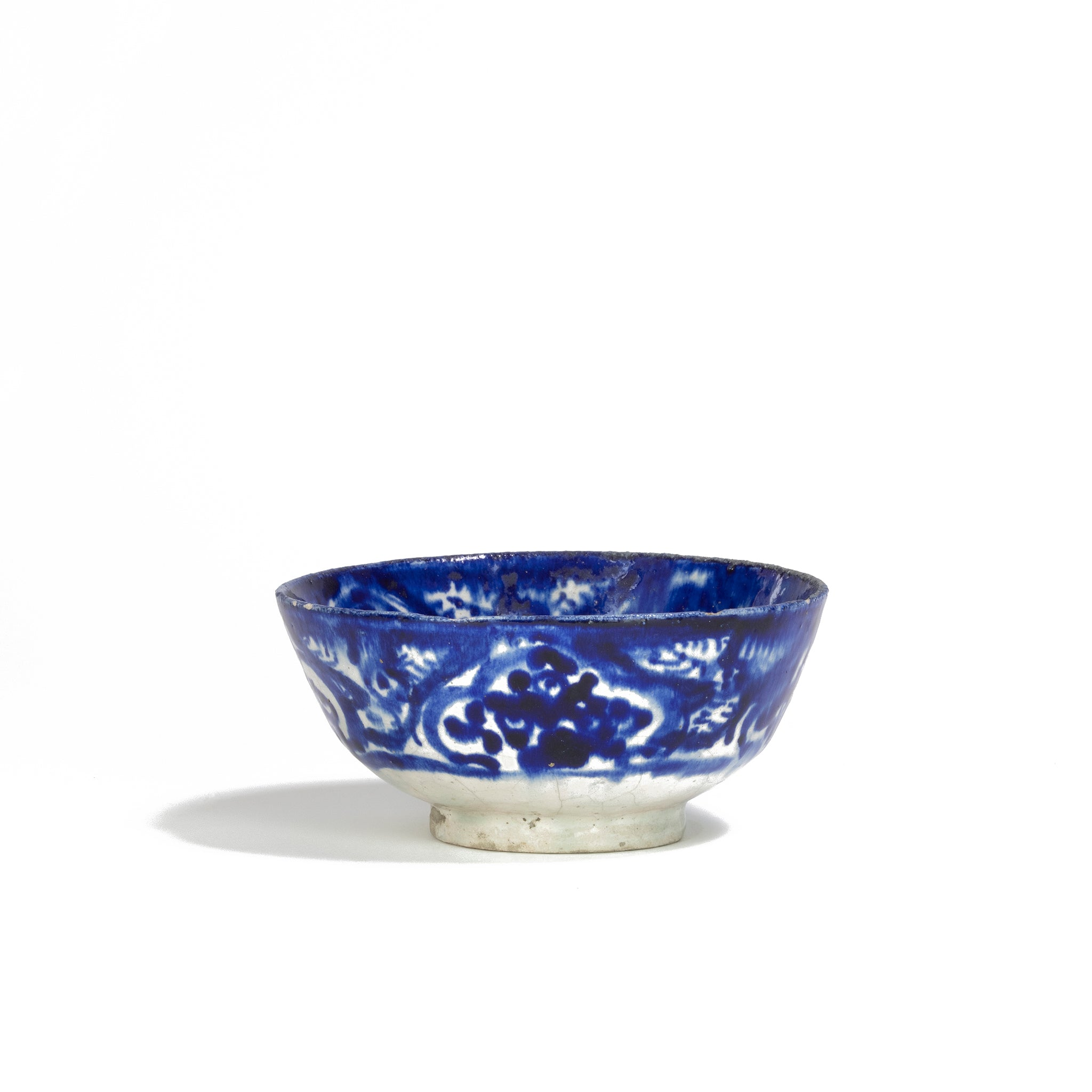 Persian Ceramic Bowl | 19th Century, Kashan