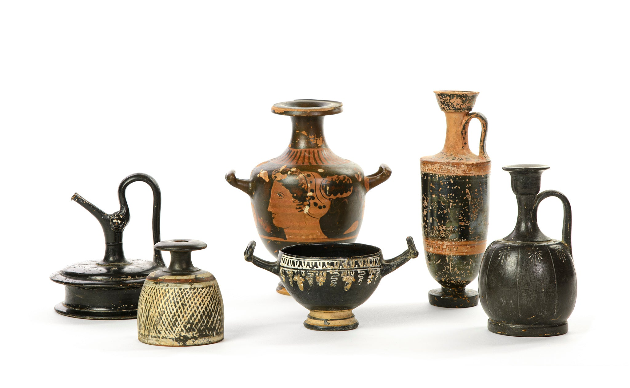 Group of European Antiquities | Greek/Italian, 4th-5th Century B.C.