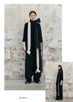 Load image into Gallery viewer, Black Leather Top and Loose Suit Pants | ATELIER ROUGE PEKIN