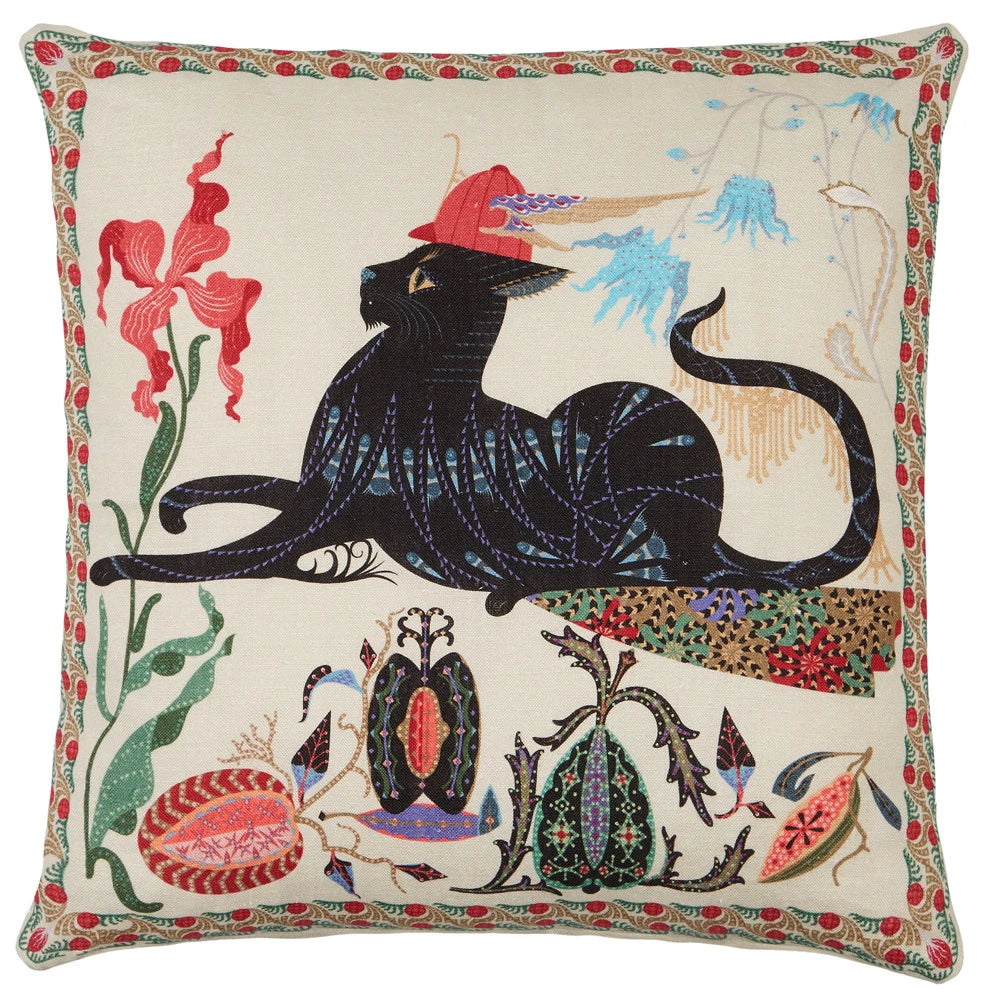 Les Chats, amis de Putte - Putte Cushion  | Klaus Haapaniemi & Co.