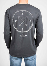 Load image into Gallery viewer, Long-Sleeve Compass Tee