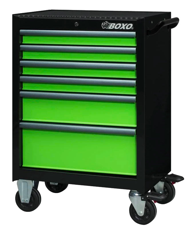 "26"" 6-Drawer Pro Series  Bottom Roll Tool Cabinet (Gloss Black)"