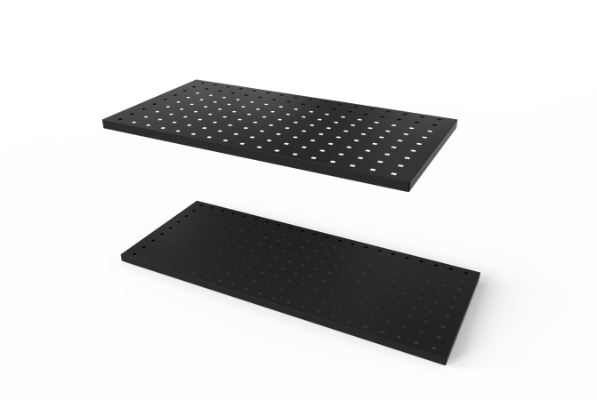 "34"" Perforated Panel, Dark Grey (2 pieces per box)"