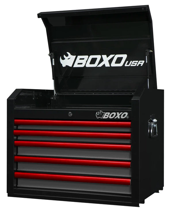 "26"" 5-Drawer Pro Series Top Tool Chest (Gloss Black)"