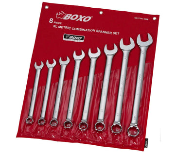8-Piece Metric XL Combination Wrench Set