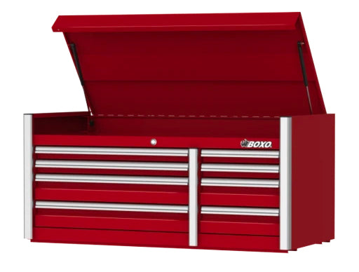 "54"" 8-Drawer Elite Series Top Tool Chest (Gloss Red)"