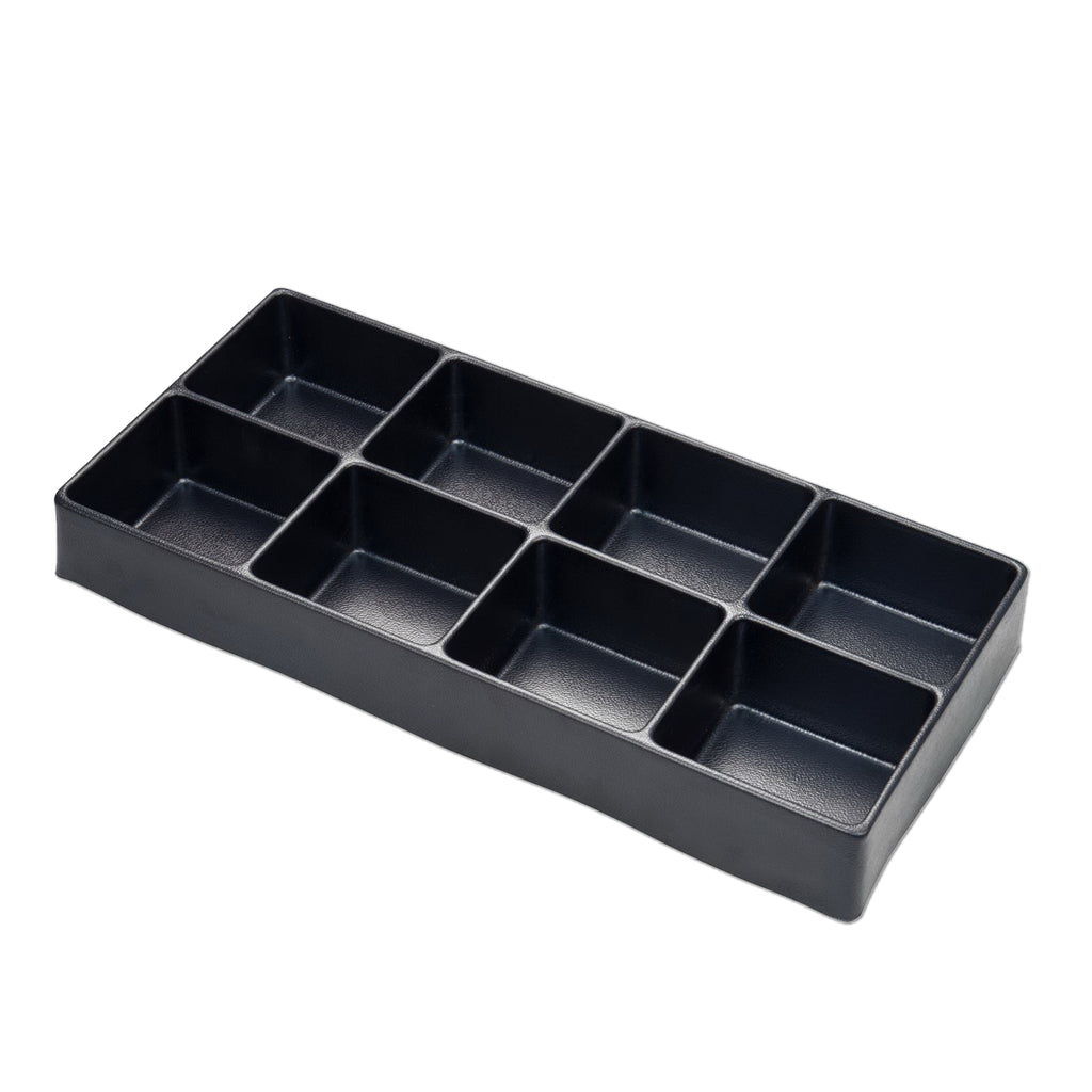 "16"" Universal, 8-Section Deep Drawer Plastic Divider"