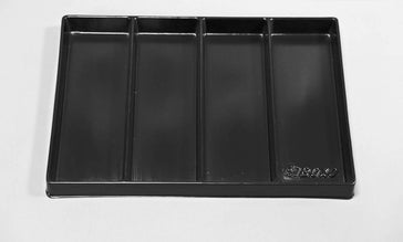 "16"" Universal, 4-Section, Deep Drawer Plastic Divider"