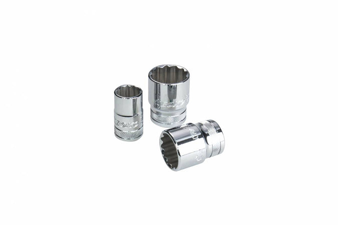 "18mm 1/2"" Drive 12-Point Socket"