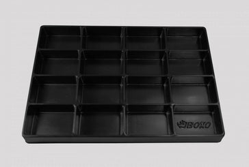 "16"" Universal, 16-Section, Deep Drawer Plastic Divider"