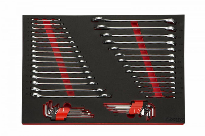 48-Piece Metric & SAE Wrench Set