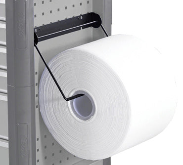 Paper Roll Holder, Fits Perforated Wall