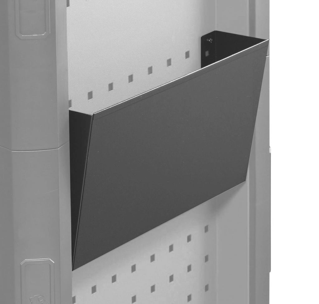 Document Holder, Fits Perforated Wall