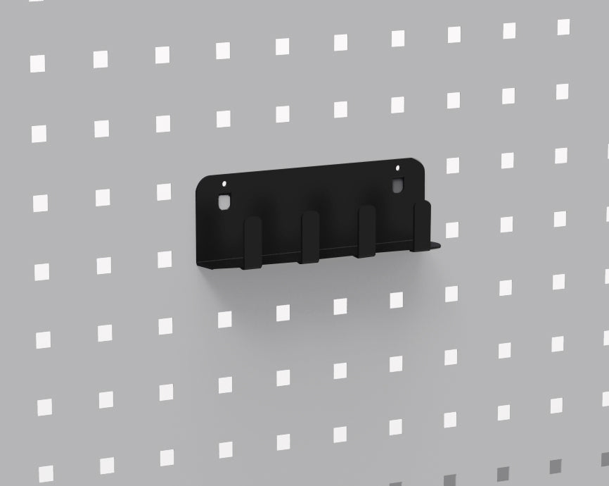 Impact Socket Holder, Fits Perforated Wall