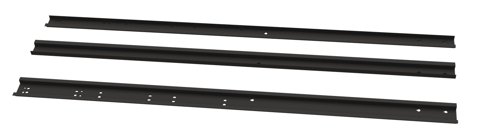 Side Bracket w/Right & Left Black Color (78.74 x 3.54 x 1.18)