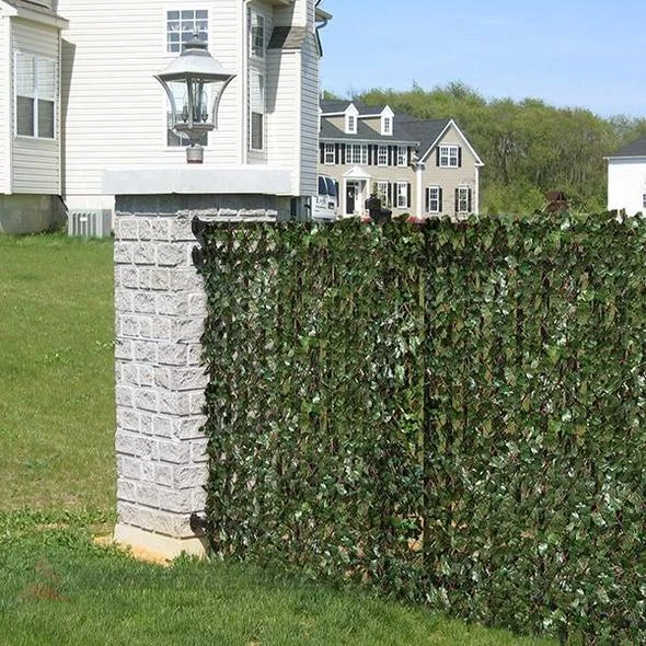 Retractable Artificial Garden Fence Expandable Privacy Faux - Clean Green Project