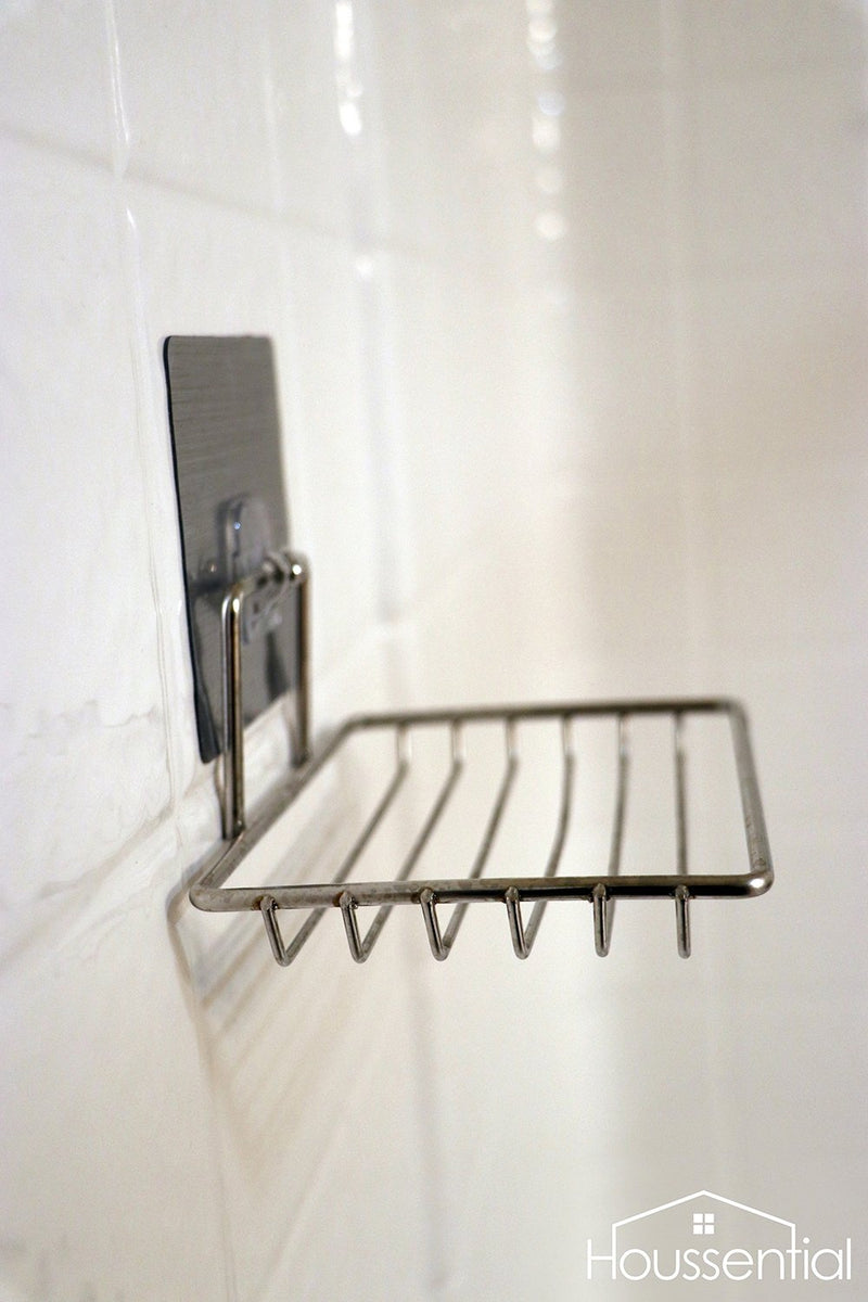Houssential Stick on Stainless Steel Holder
