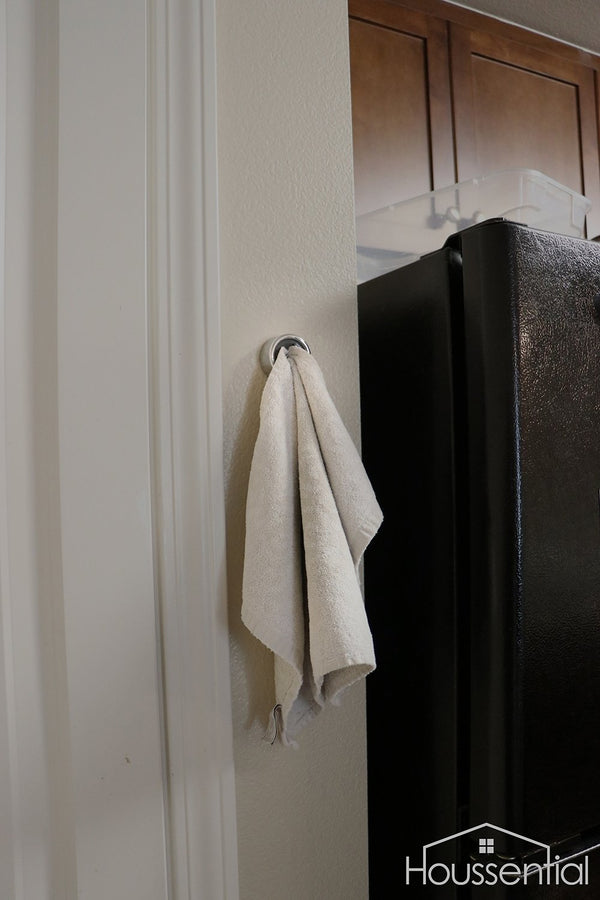 Houssential Push In Towel Holder
