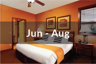 Signature Villa Jun to Aug | one bedroom suite | in-suite bathroom | with lake view | with balcony